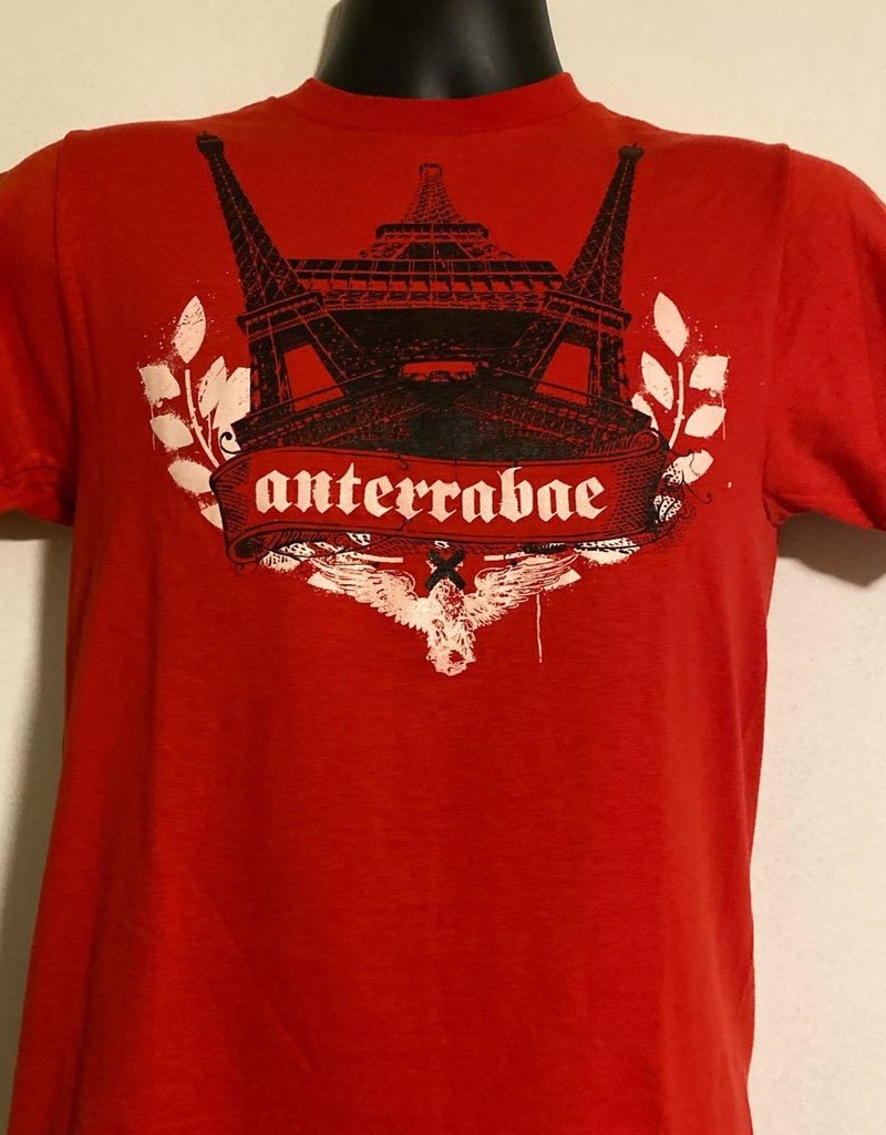 Apparel Anterrabae Double Eiffel Tower T-Shirt, Red, S