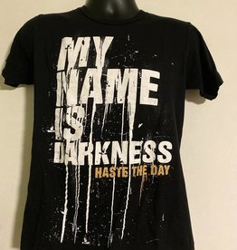 Apparel Haste The Day My Name Is Darkness T-Shirt, Blk, S