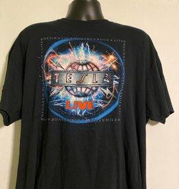 Apparel Tesla 2016 Mechanical Resonance 30th Anniversary Tour T-Shirt, Blk, XXL