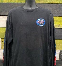 Apparel George Thorogood 30 Years Of Rock Long Sleeve Shirt, Blk, XXL