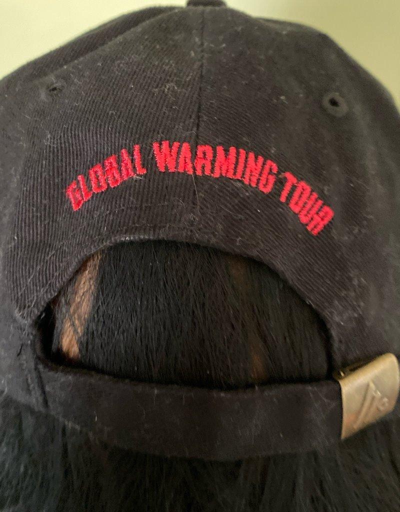 Apparel Aerosmith 2012 Global Warming Tour Hat, Blk, Buckle Strap