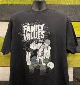 Apparel The Family Values Tour 2001 Reprint T-Shirt, Blk, XL