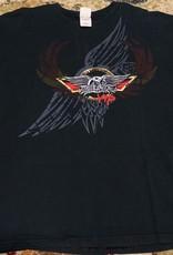 Apparel Aerosmith 2006 Route Of All Evil Tour VIP T-Shirt, Blk, XL