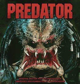 Used Vinyl Predator Soundtrack (Green Predator Blood Vinyl)