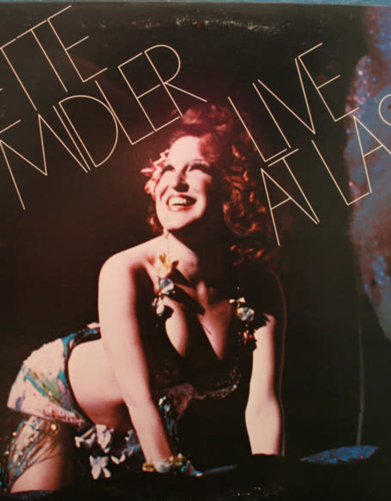 Used Vinyl Bette Midler- Live At Last