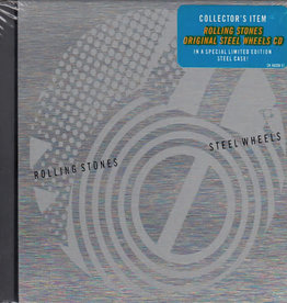 Rolling Stones- Steel Wheels (Limited Edition Steel Case)