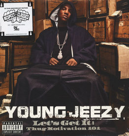 Used Vinyl Young Jeezy- Let's Get It: Thug Motivation 101 (White Vinyl)