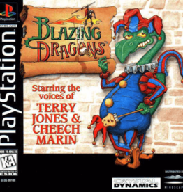 PS1 Blazing Dragons