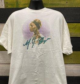Apparel Mary J Blige 2006 Breakthrough T-Shirt, White, 3XL