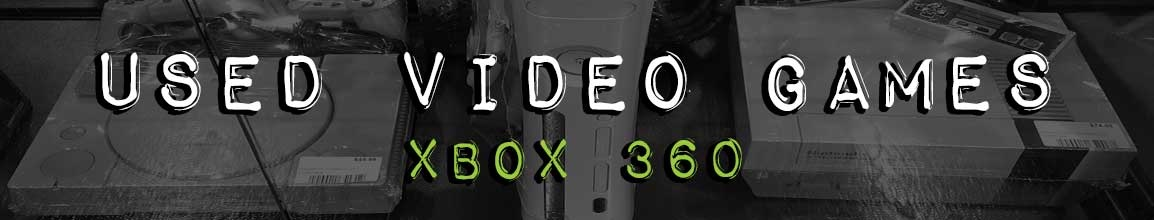 used xbox 360 games at darkside records