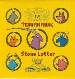 Used 7 Tomahawk- Stone Letter (Etched)(RSDBF12)
