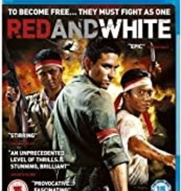 Used BluRay Red And White