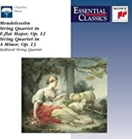 Used CD Felix Mendelssohn- String Quartet in E-flat Major Op. 12/ String Quartet in A Minor, Op. 13