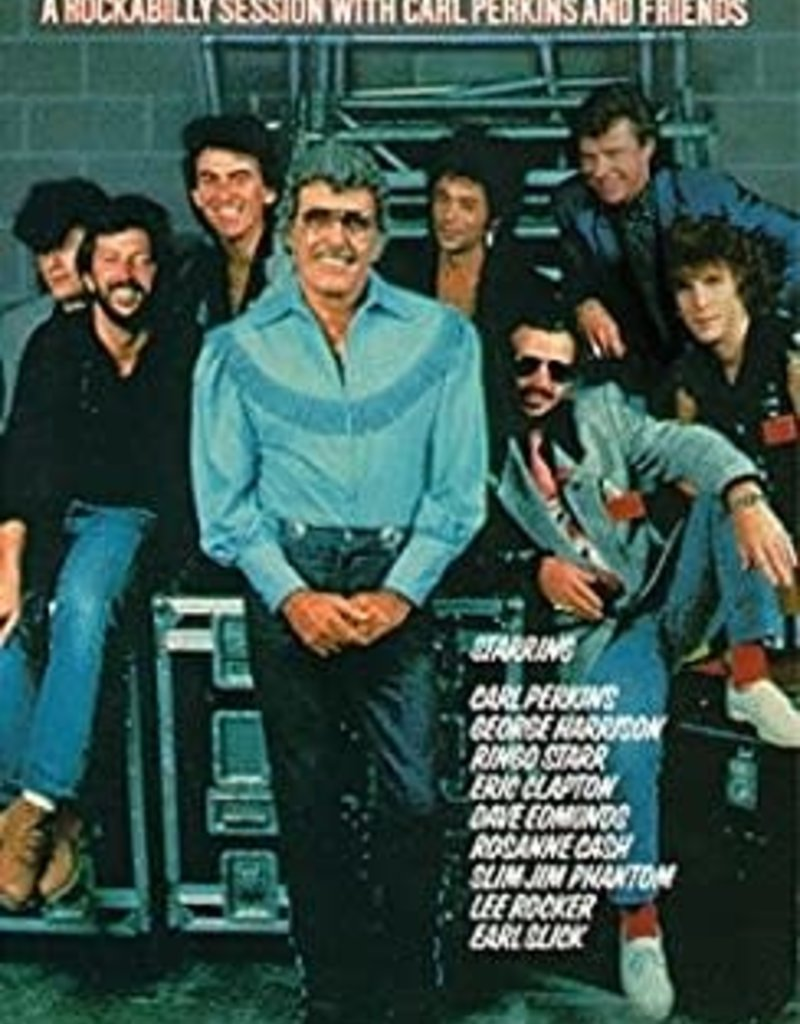 Used VHS Carl Perkins-  Blue Suede Shoes: A Rockabilly Session With Carl Perkins & Friends