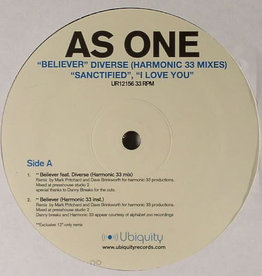 "Used Vinyl As One- Believer/Sanctified/I Love You (12"")"