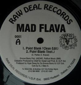 """Used Vinyl Mad Flava- Point Blank (12"""")(Sealed)"""