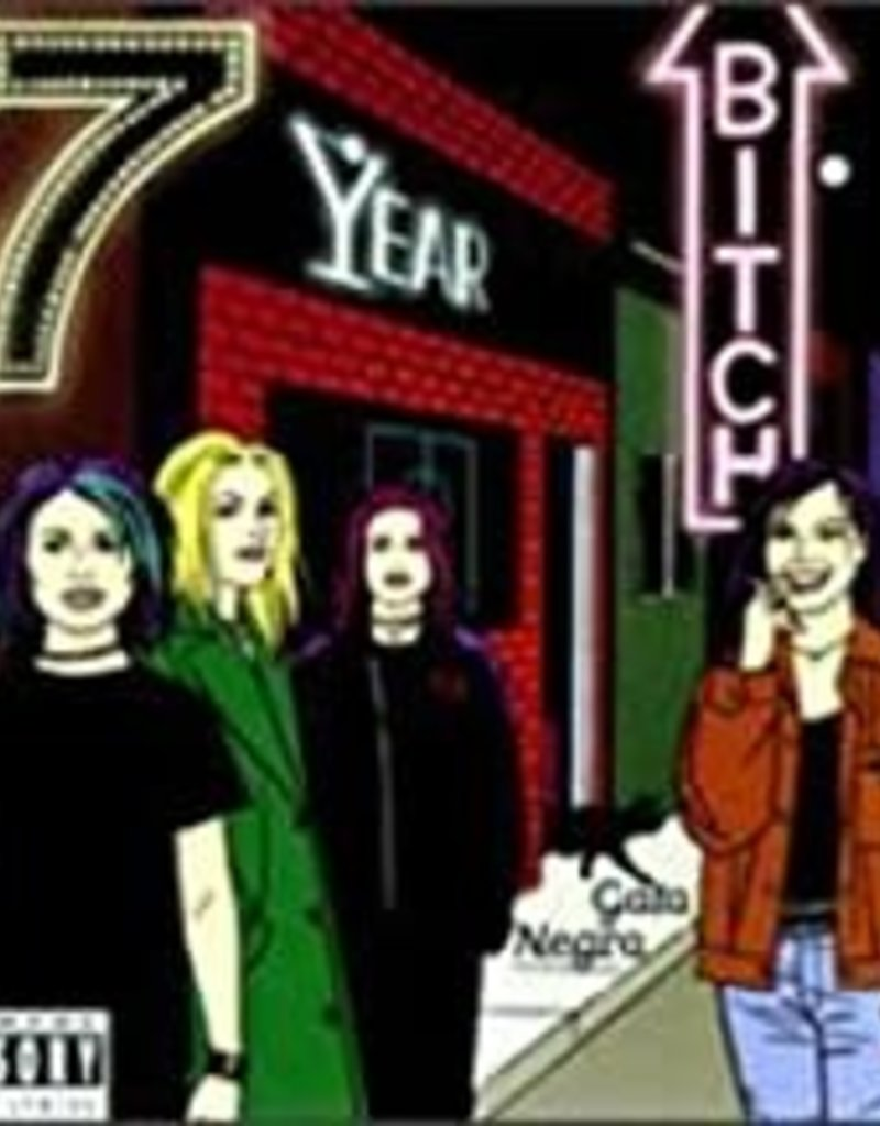 Used CD 7 Year Bitch- Gato Negro