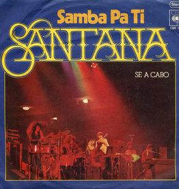 Used 7 Santana- Samba Pa Ti (German)