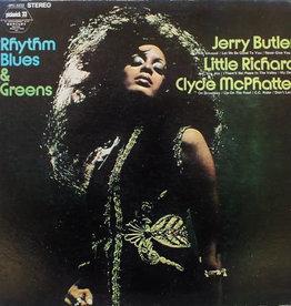 Used Vinyl Jerry Butler/ Little Richard/ Clyde McPhatter- Rhythm, Blues, & Greens