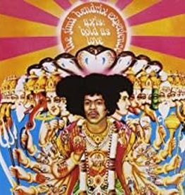 Used CD Jimi Hendrix- Axis Bold As Love
