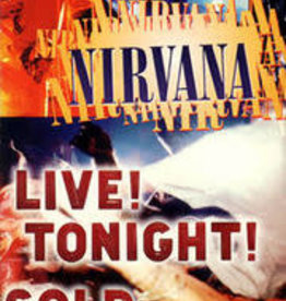 Used VHS Nirvana- Live! Tonight! Sold Out!!