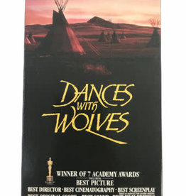 Used VHS Dances With Wolves