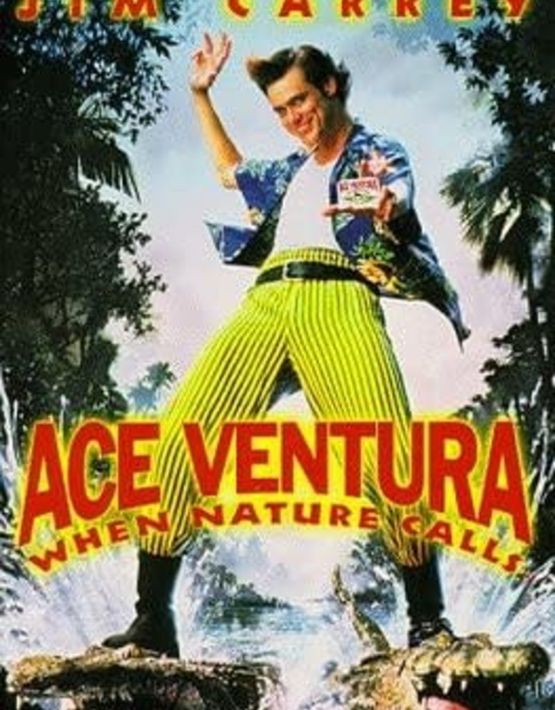 Used VHS Ace Ventura: When Nature Calls