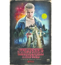 Used BluRay Stranger Things Season 1 (Collector's Edition VHS Case)