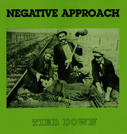Used Vinyl Negative Approach- Tied Down (Repress)