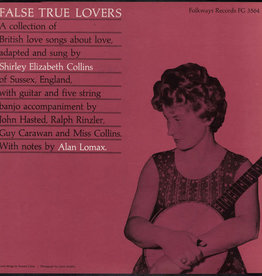 Used Vinyl Shirley Collins- False True Lovers *DSG*