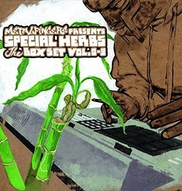 Used Vinyl MF Doom- Metal Fingers Presents Special Herbs The Box Set Vol. 0-9