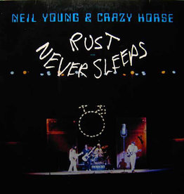 Used Vinyl Neil Young & Crazy Horse- Rust Never Sleeps