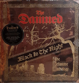 Used Vinyl The Damned- Black Is The Night (The Definitive Anthology)(Sealed)