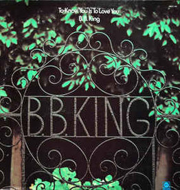 Used Vinyl B.B. King- To Know You Is To Love You