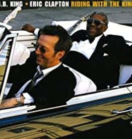 Used CD B.B. King & Eric Clapton- Riding With The King