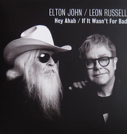 Used 7 Elton John/Leon Russell- Hey Ahab / If It Wasn't For Bad