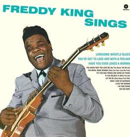 Used Vinyl Freddy King- Freddy King Sings (Reissue)(Sealed)