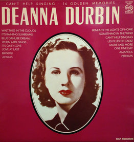 Used Vinyl Deanna Durbin- Can't Help Singing (UK)