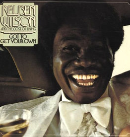 Used Vinyl Reuben Wilson And The Cost Of Living- Got To Get Your Own (Sealed)(DSG)