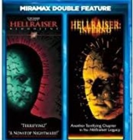 Used BluRay Hellraiser: Bloodline/ Hellraiser: Inferno