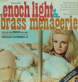 Used Vinyl Enoch Light & The Light Brigade- The Brass Menagerie (Quadraphonic)