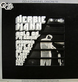 Used Vinyl Herbie Mann- Hold On I'm Comin' (Quadraphonic)