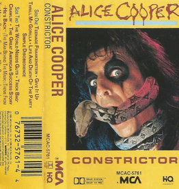 Used Cassette Alice Cooper- Constrictor