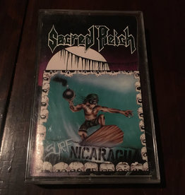 Used Cassette Sacred Reich- Surf Nicaragua
