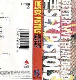 Used Cassette Sex Pistols- Better Live Than Dead