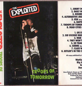 Used Cassette The Exploited- Troops Of Tomorrow