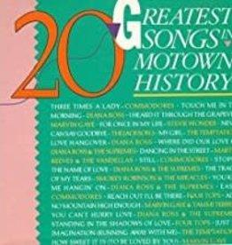 Used CD Various- 20 Greatest Songs In Motown History