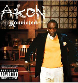 Used CD Akon- Konvicted