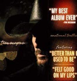 Used CD Tim McGraw- Emotional Traffic