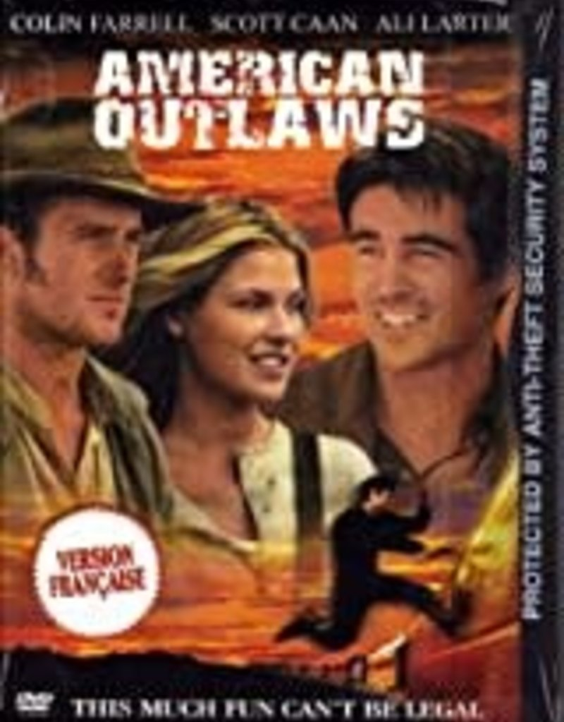 Used DVD American Outlaws